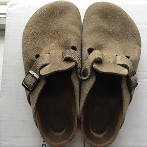 Birkenstock Boston Soft Footbed- Suede Leather
